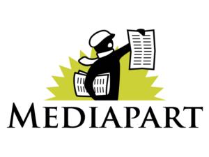 Logo Mediapart sur site LaFleur